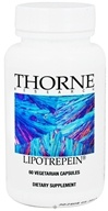 Thorne Research - Lipotrepein - 60 Vegetarian Capsules (693749700036)