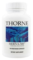 Thorne Research - Meriva-500 Curcumin Phytosome 1000 mg. - 60 Vegetarian Capsules (693749785019)