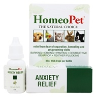 HomeoPet - Anxiety Relief Liquid Drops For Pets - 15 ml. by HomeoPet