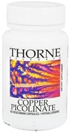 Thorne Research - Copper Picolinate 2 mg. - 60 Vegetarian Capsules