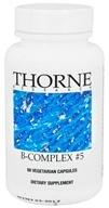 Thorne Research - B-Complex #5 - 60 Vegetarian Capsules