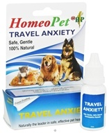 Image of HomeoPet - Travel Anxiety Liquid Drops For Pets - 15 ml. CLEARANCE PRICED