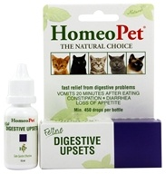 HomeoPet - Digestive Upsets Feline Liquid Drops - 15 ml. by HomeoPet