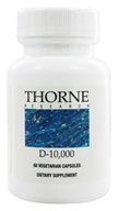 Thorne Research - D-10,000 IU - 60 Vegetarian Capsules, from category: Professional Supplements