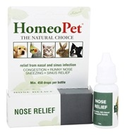 HomeoPet - Nose Relief Liquid Drops For Pets - 15 ml. (704959147020)