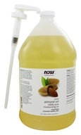 Image of NOW Foods - Sweet Almond Oil - 1 Gallon