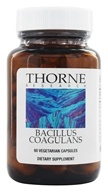 Thorne Research - Bacillus Coagulans 133 mg. - 60 Vegetarian Capsules (formerly Lactobacillus Sporogenes) (693749758020)