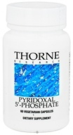 Thorne Research - Pyridoxal 5'-Phosphate 33.8 mg. - 60 Vegetarian Capsules (693749116028)