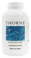 Thorne Research - Niasafe-600 540 mg. - 180 Vegetarian Capsules, from category: Professional Supplements