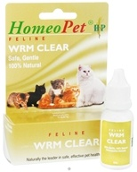 HomeoPet - Wrm Clear Feline Liquid Drops - 15 ml. by HomeoPet