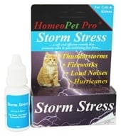 HomeoPet - Storm Stress For Cats & Kittens Liquid Drops - 15 ml. CLEARANCE PRICED (704959147471)