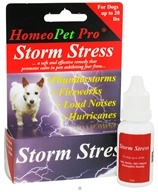 HomeoPet - Storm Stress For Dogs Up To 20 lbs. Liquid Drops - 15 ml. (704959147426)