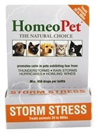 HomeoPet - Storm Stress For Dogs 20 to 80 lbs. Liquid Drops - 15 ml., from category: Pet Care