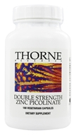 Thorne Research - Double Strength Zinc Picolinate 30 mg. - 180 Vegetarian Capsules