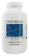 Thorne Research - Pure Ascorbic Acid 1 g. - 250 Vegetarian Capsules