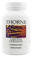 Thorne Research - Calcium Citramate 160 mg. - 90 Vegetarian Capsules