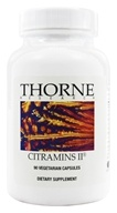 Thorne Research - Citramin II - 90 Vegetarian Capsules (693749250036)