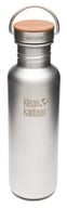 Klean Kanteen - Stainless Steel Water Bottle Reflect with Stainless Bamboo Cap Brushed ...
