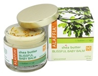 Alaffia - Baby Balm Blissful Baby Shea Butter Unscented - 2 oz. by Alaffia