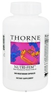 Thorne Research - Nutri-Fem Basic Nutrients for Women Under 40 - 240 Vegetarian Capsules - $45.45