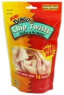 Dingo - Chicken In The Middle Chip Twists Mini 14-Pack - 3.18 oz., from category: Pet Care