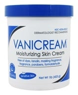 Vanicream - Moisturizing Skin Cream for Sensitive Skin - 1 lb. (345334300014)