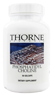 Thorne Research - Phosphatidyl Choline - 60 Gelcaps (693749605010)