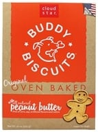Image of Cloud Star - Buddy Biscuits Dog Treats Peanut Butter - 16 oz.