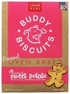 Image of Cloud Star - Buddy Biscuits Dog Treats Sweet Potato - 16 oz.