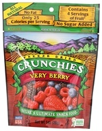 Crunchies - Freeze Dried Fruit Snack Very Berry - 1 oz., from category: Health Foods