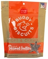 Cloud Star - Buddy Biscuits Soft & Chewy Dog Treats Peanut Butter - 6 oz. by Cloud Star