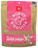 Cloud Star - Buddy Biscuits Soft & Chewy Dog Treats Sweet Potato - 6 oz. by Cloud Star