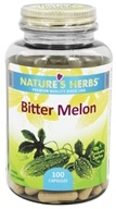 Image of Nature's Herbs - Bitter Melon 450 mg. - 100 Capsules