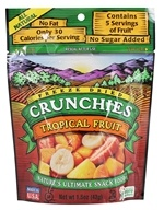 Crunchies - Freeze Dried Fruit Snack Tropical Fruit - 1.5 oz., from category: Health Foods