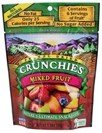 Crunchies - Freeze Dried Fruit Snack Mixed Fruit - 1.5 oz., from category: Health Foods