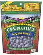 Crunchies - Freeze Dried Fruit Snack Blueberry - 1.5 oz. by Crunchies