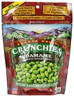Crunchies - Freeze Dried Vegetable Snack Edamame - 3.25 oz. by Crunchies