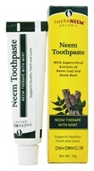 Organix South - TheraNeem Neem Toothpaste Mint - 15 Grams - $1.72