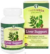 Organix South - TheraVeda Liver Support - 60 Vegetarian Capsules (666183020077)