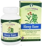 Organix South - TheraVeda Sleep Ease - 60 Vegetarian Capsules (666183020022)