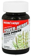 Nature's Herbs - Power Herb Silica 300 mg. - 60 Capsules - $8.84