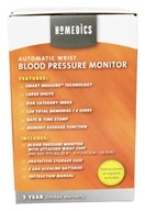HoMedics - Automatic Wrist Blood Pressure Monitor BPW-060 - $34.98