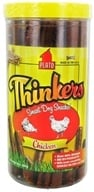 Image of Plato Pet Treats - Thinkers Dog Treats Chicken Sticks - 24 oz.