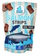 Plato Pet Treats - Salmon Strips For Dogs - 16 oz.