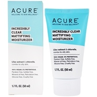 Acure Organics - Oil Control Facial Moisturizer Lilac Stem Cells + 1% Chlorella Growth Factor - 1 oz. Formerly Day Cream CoQ10 + Chlorella Growth Factor