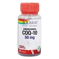 Solaray - Ubiquinol CoQ-10 50 mg. - 30 Softgels (076280676891)