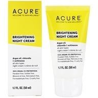 Acure Organics - Night Cream Argan Stem Cell + 2% Chlorella Growth Factor - 1.75 oz. (854049002095)