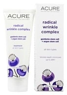 Acure Organics - Radical Wrinkle Complex Gardenia & Argan Stem Cells + 5% Chlorella Growth Factor - 1.4 oz. Formerly Radical Age Reversal Chlorella Grwth Factor by Acure Organics