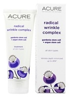 Acure Organics - Radical Wrinkle Complex Gardenia & Argan Stem Cells + 5% Chlorella Growth Factor - 1 oz. Frmrly Radical Age Reversal Chlorella Grwth Factor+Moroccan Argan Oil LUCKY DEAL
