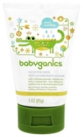 Image of BabyGanics - Moisturizing Eczema Care Skin Protectant Cream Bye Bye Dry Fragrance Free - 3 oz.